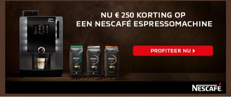 Nieuw espressobonen concept van Nescafé