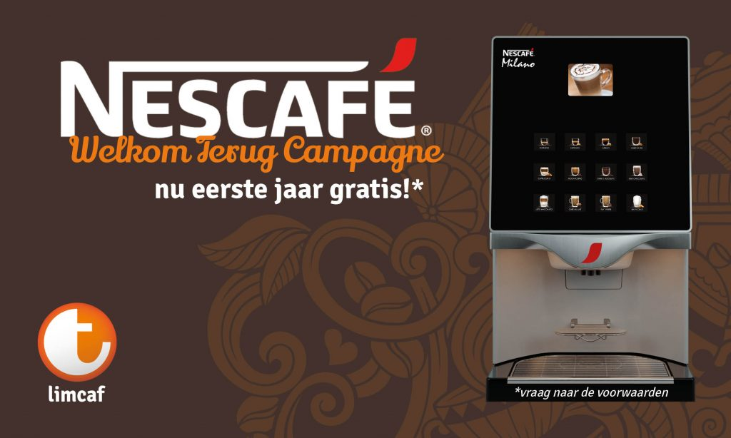 Nescafé Welkom Terug Campagne